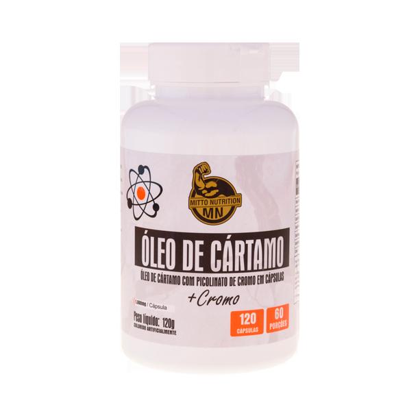 Óleo de Cártamo+Cromo 120cáps