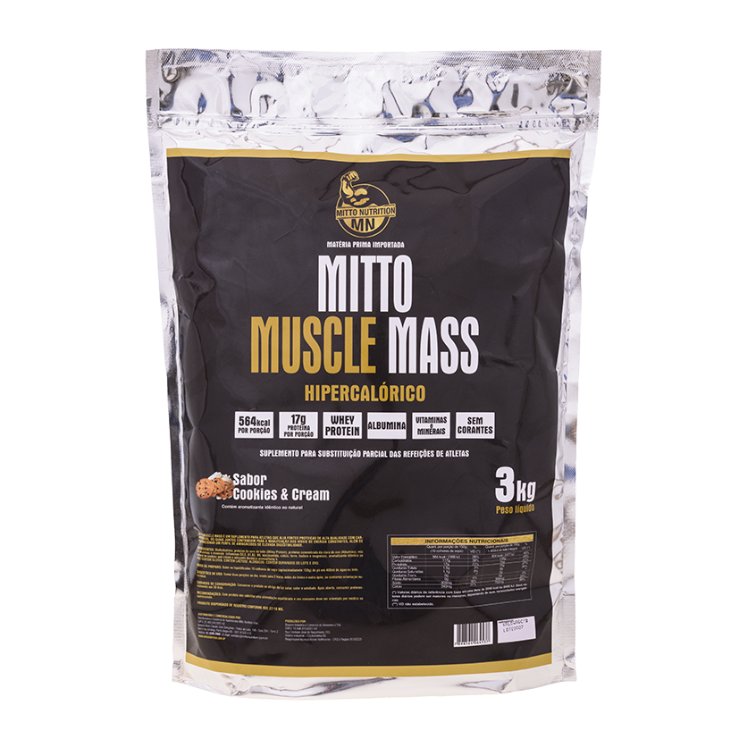 Mitto Muscle Mass 3kg