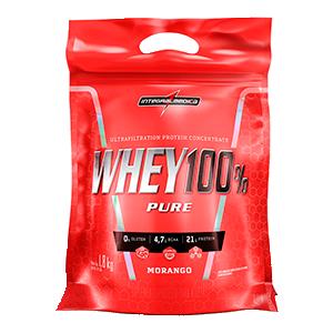 100%Whey Protein concentrado refil 1,8kg