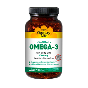 Country Life Omega 3 Fish Oil 200g