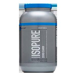 Isopure 3lbs(1,4kls) Baunilha Zero Carb Natures Best