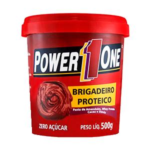 Pasta de Amendoim com Brigadeiro Proteico Power One 500g