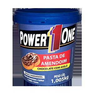 Pasta de Amendoim Power One Chocolate com Avelã 1,005kg